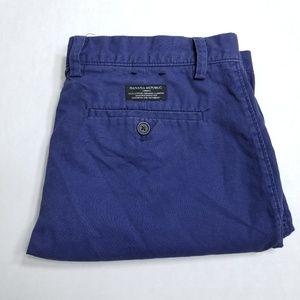 Banana Republic Navy Blue Chino shorts
